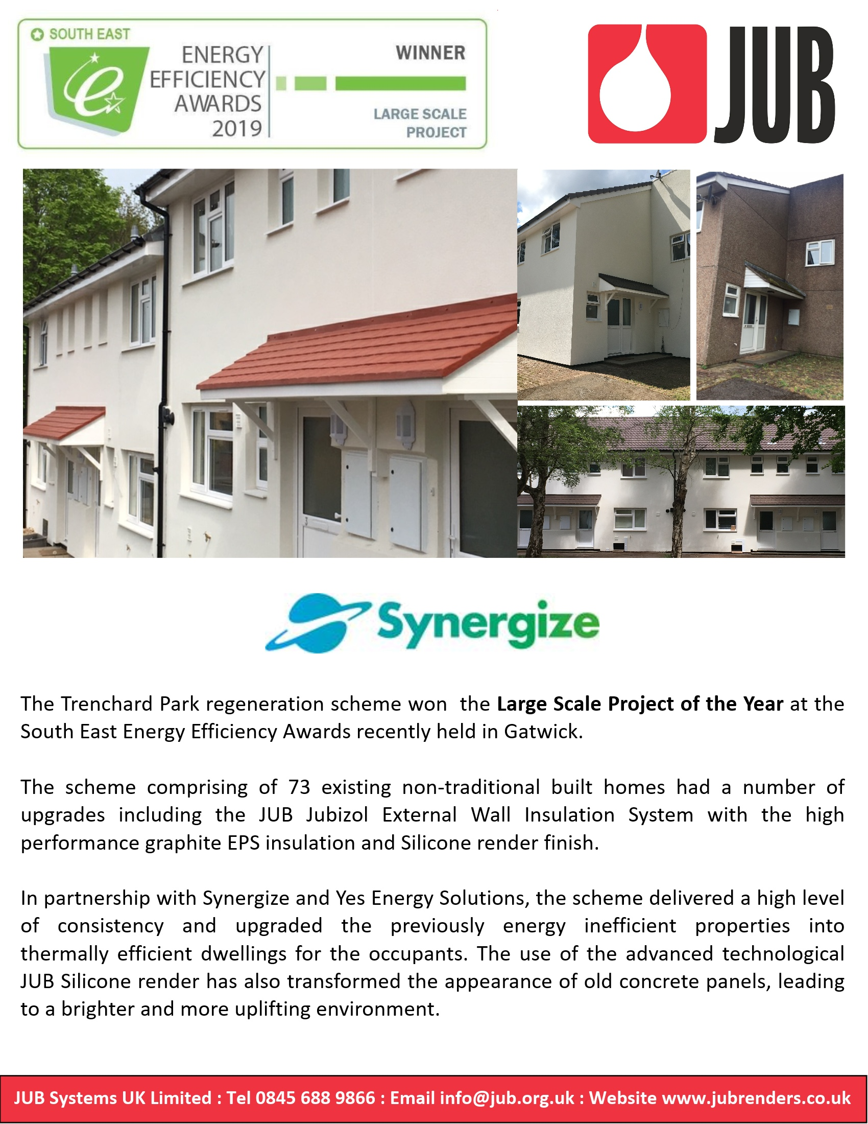 Large Scale Project of the Year Award | JUB Render Systems – JUB